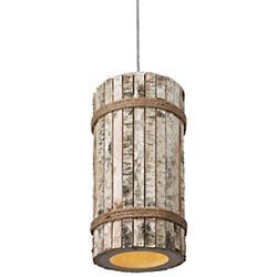 Woody 1-Light Tall Pendant