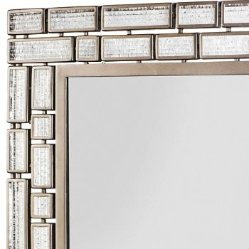 Harlowe Rectangular Mirror, Detail view
