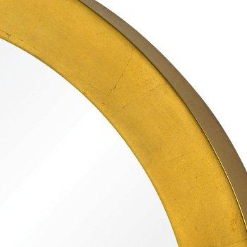 Ringleader Round Accent Mirror, Detail view