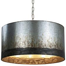 Cannery 4-Light Drum Pendant