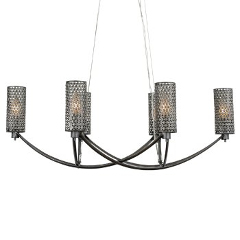 Casablanca Oval Chandelier
