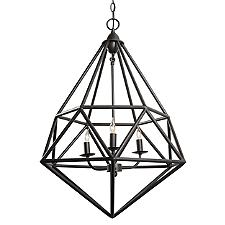 Facet 3-Light Pendant Light