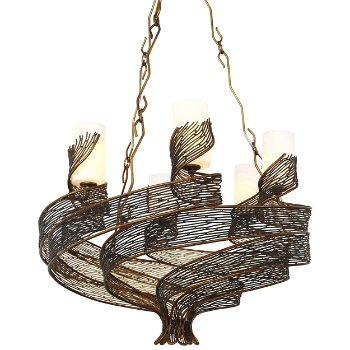 Flow 6-Light Chandelier