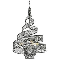 Flow 3-Light Twist Pendant Light