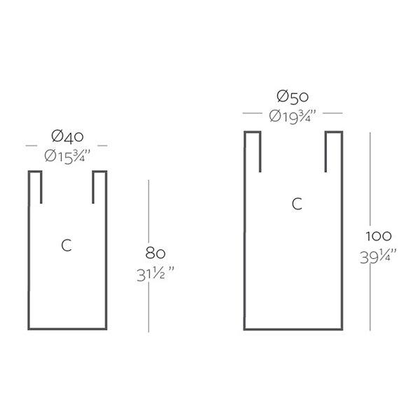 High Cylinder Planter