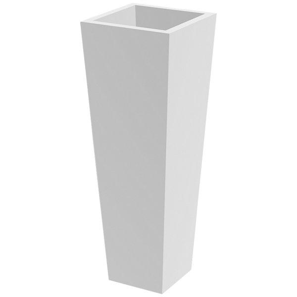 High Square Cone Pot