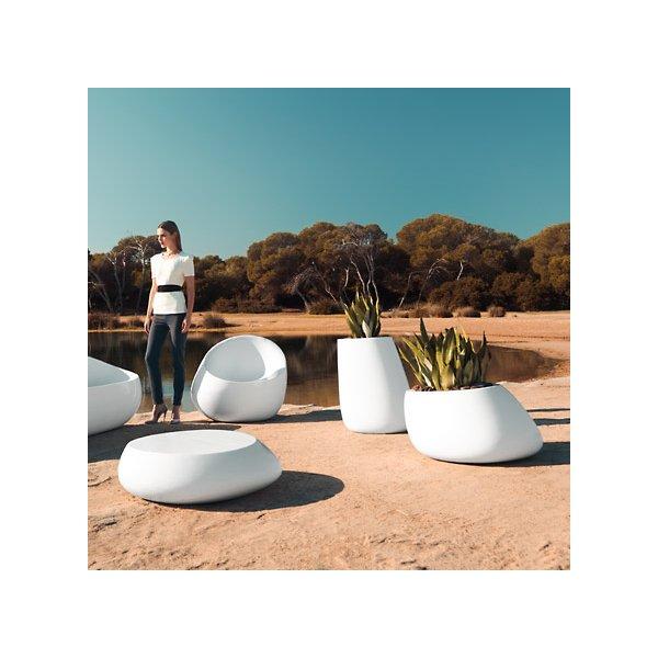Stone Self-Watering Planter