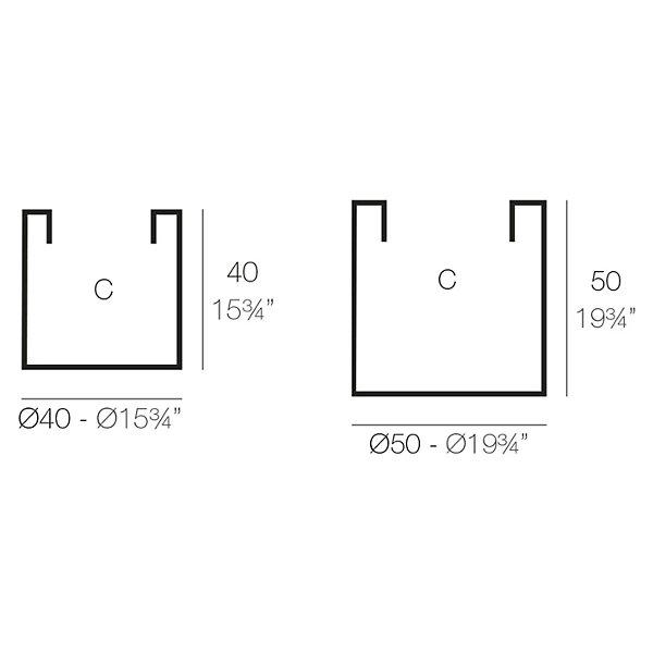 Cilindro LED Planter