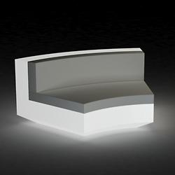 Vela Curved Sectional Sofa Illuminated