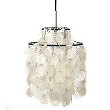 Fun Mother of Pearl Pendant Light