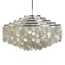 Fun Mother Of Pearl Large Pendant Light