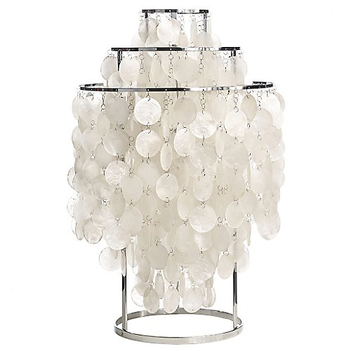 Fun Mother Of Pearl Table Lamp By Verpan At Lumens Com