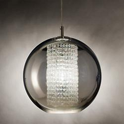 Ulee Suspension Light (12 Inch/Silver) - OPEN BOX RETURN
