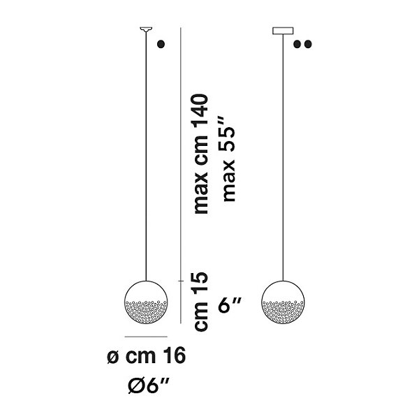 Bolle Mini Pendant