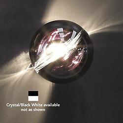 POC FA 16 Wall / Flushmount (Crystal/Black White) - OPEN BOX