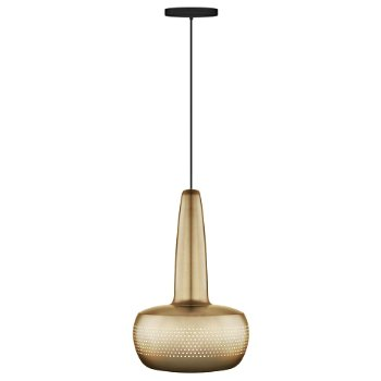 Shown in Brass finish, Black