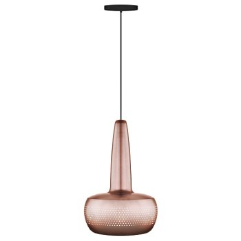 Shown in Copper finish, Black