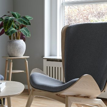 Reader Lounge Chair and My Spot Side Table