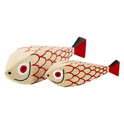 Wooden Doll - Mother Fish and Child