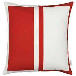Rectangles/Circle Graphic Pillow