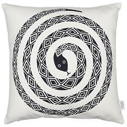 Snake Graphic Pillow