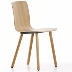 HAL Ply Wood Leg Chair