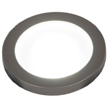 Top view in Bronzed Stainless Steel finish, Slim with Standard Lens