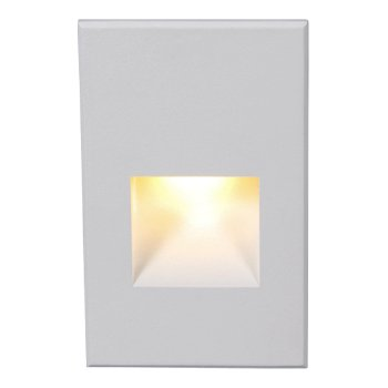 Shown lit in White on Aluminum finish, Amber