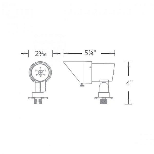 LED 12V Mini Spotlight