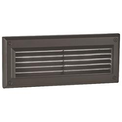 Endurance LED Louvered Brick Step Light