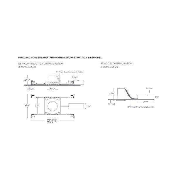 Oculux 2-Inch LED Round Adjustable Trim