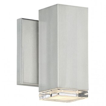 Block LED Outdoor Wall Sconce