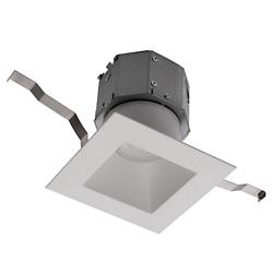 Pop-in 4in Square LED New Construction Recessed Downlight Multi-Pack