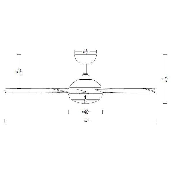 Disc II LED Ceiling Fan