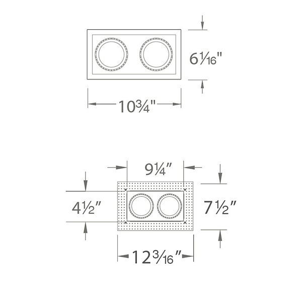 Precision Multiples 4-Inch 1X2 Trim