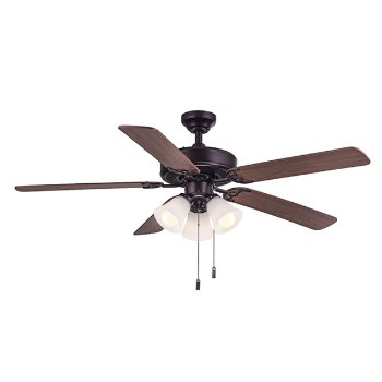 Shown in Oiled Bronze Fan Body and Blade finish