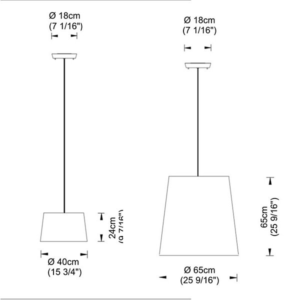 Excentrica Drum Pendant