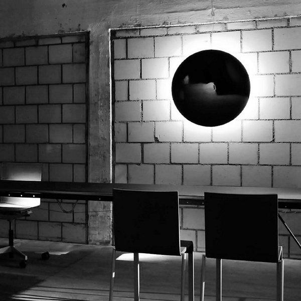 Hoop Metal LED Flushmount / Wall Sconce