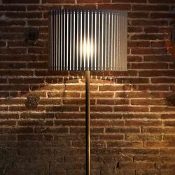 Luz Oculta Wood Floor Lamp
