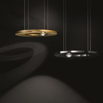 Shown in Black, Polished Gold finishes