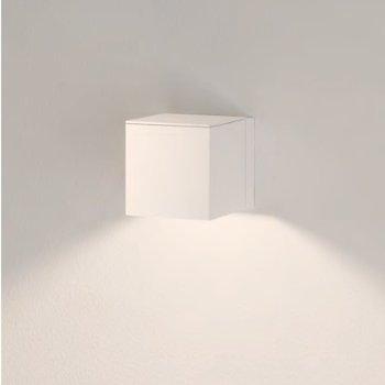 Shown in White finish, 1 Light