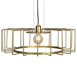 Wired Horizontal Cage LED Pendant