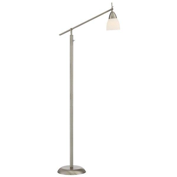 Arnsberg Weimar Swingarm Floor Lamp - 4035011-07 - Color: Nickel