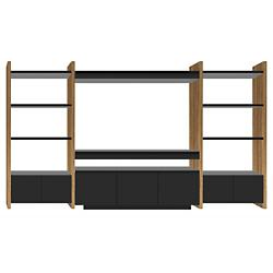 Semblance 3-Section with Mirage Cabinet, 5423-TJ, Home Theater