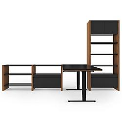 Semblance 4-Section with Lift Desk, 5464-LD, Office System