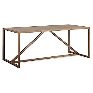 Strut Wood Dining Table by Blu Dot