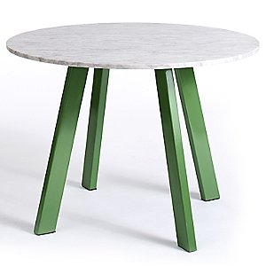 Right Round Marble Dining Table by Blu Dot