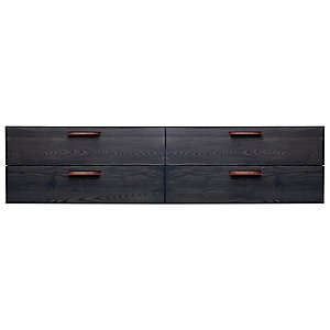 Shale 4 Drawer Wall-Mounted Cabinet by Blu Dot