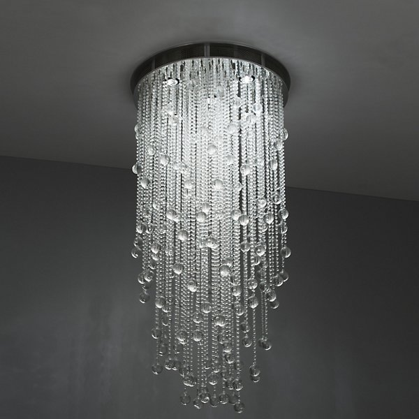 Boyd Lighting Cascade Round Suspension K0136120120 Size Extra Large Style Crystal