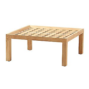 Square Teak Coffee Table by Cane-line